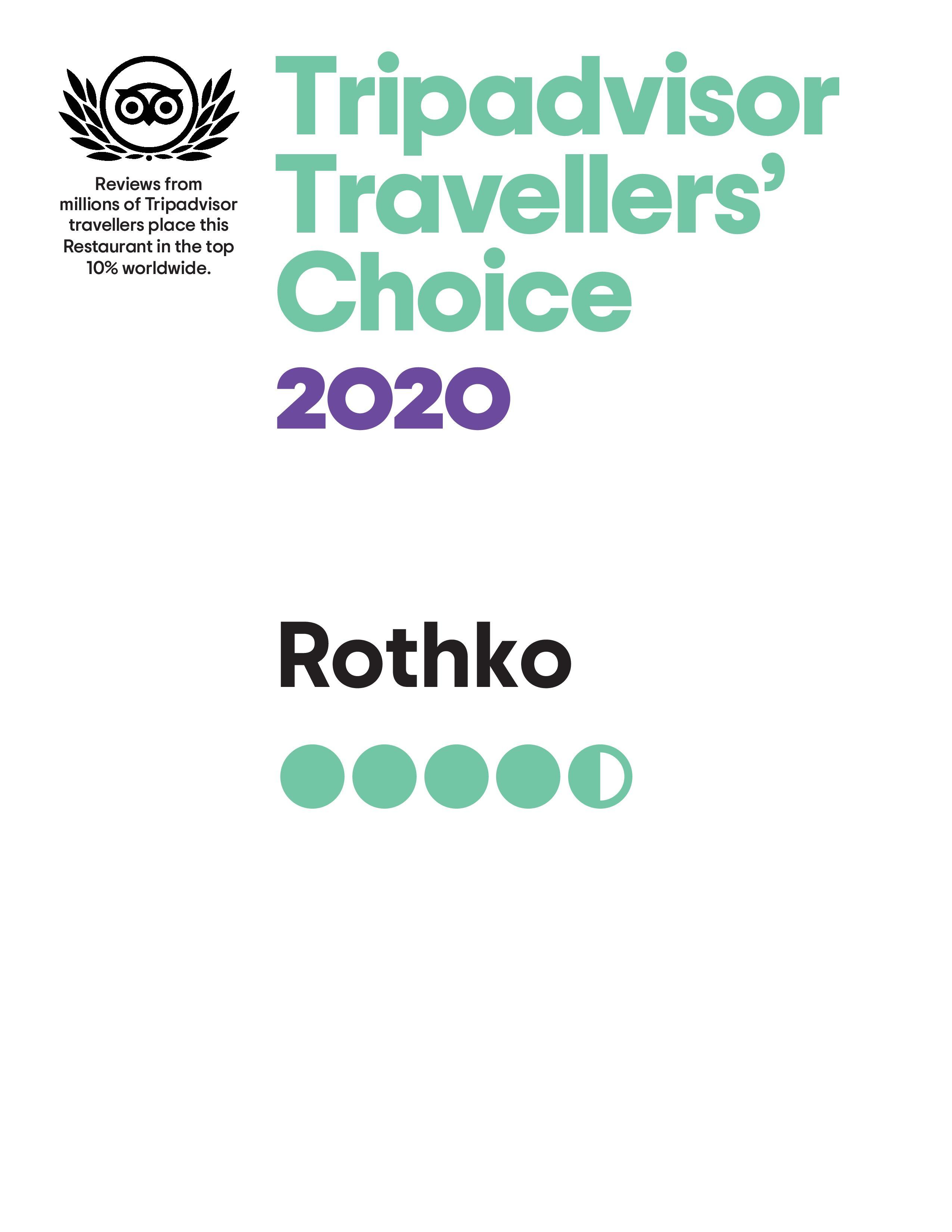 Tripadvisor Rothko